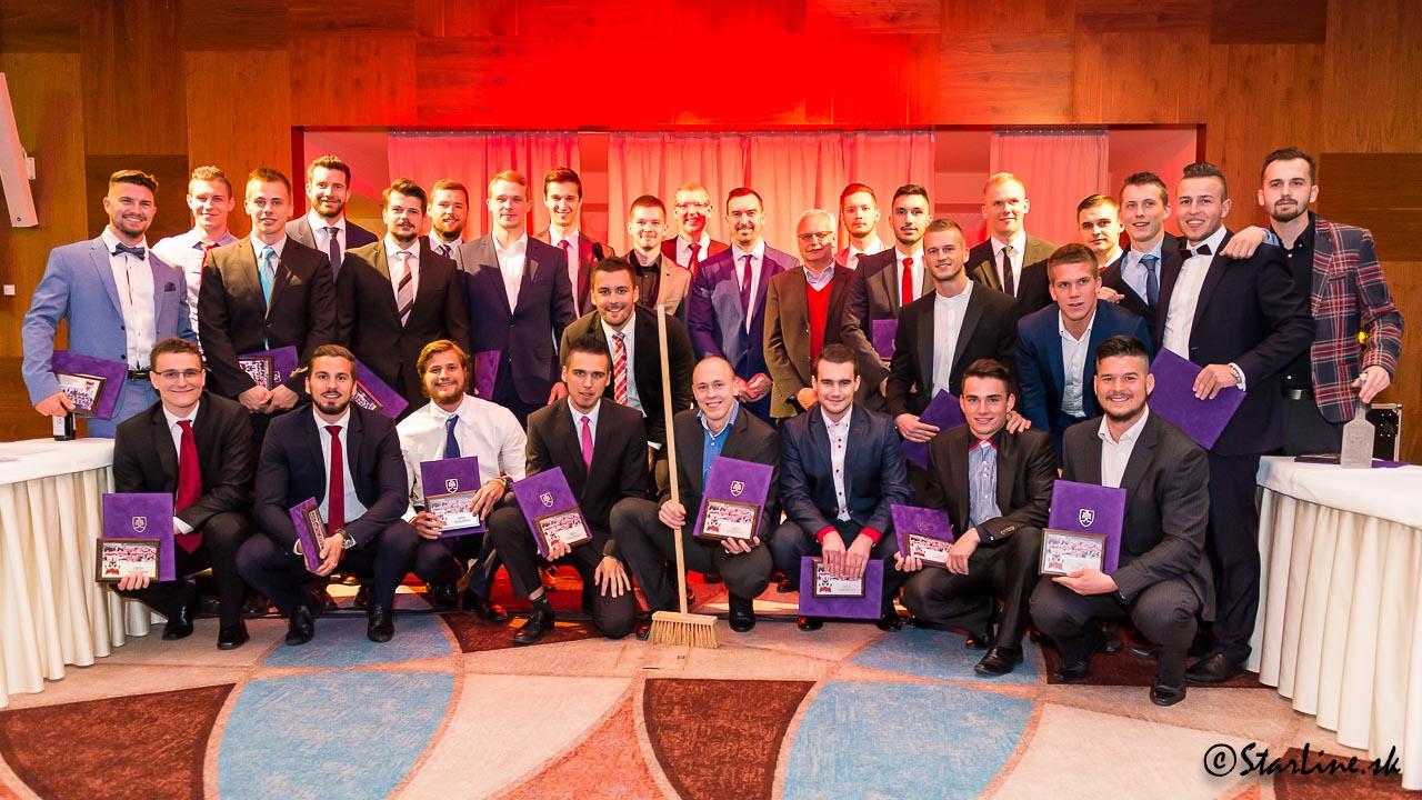 Galavečer Paneuropa Kings po ukončení sezóny 2015/2016