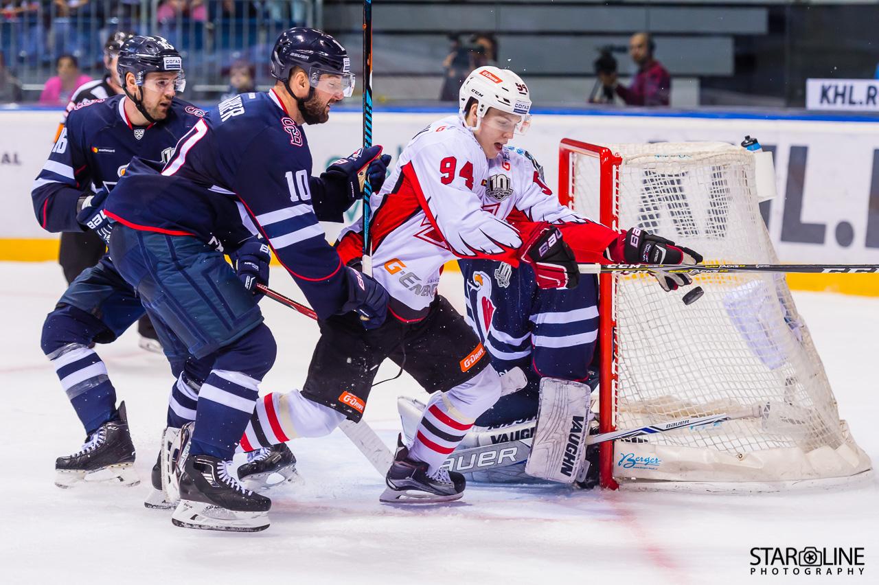 Hokejový zápas HC Slovan Bratislava – HC Avangard Omsk