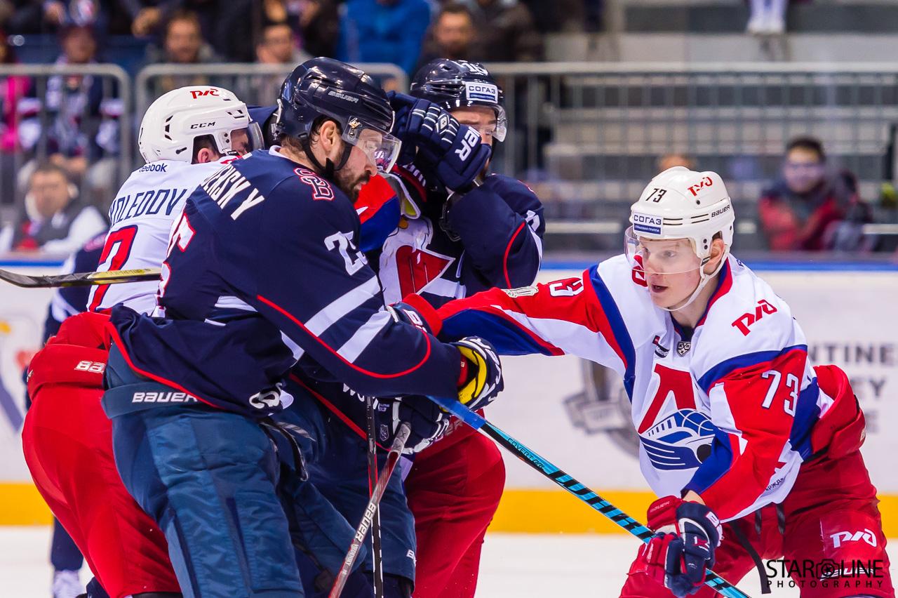 Hokejový zápas HC Slovan Bratislava – HC Lokomotiv Yaroslavl