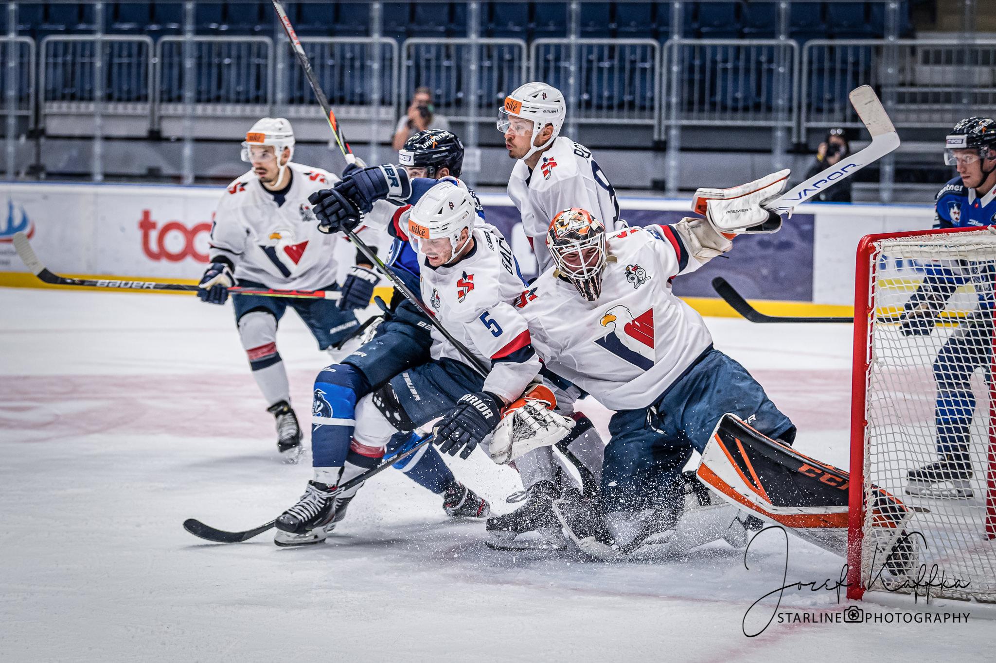 Hokejový zápas HC Slovan Bratislava - HK Poprad v rámci Tipos Extraliga