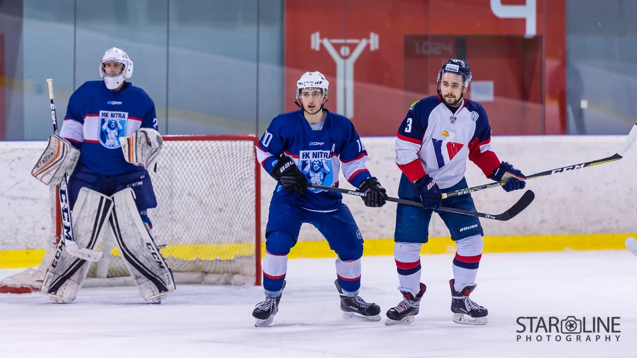 Hokejový zápas juniorov HC Slovan Bratislava – MMHK Nitra