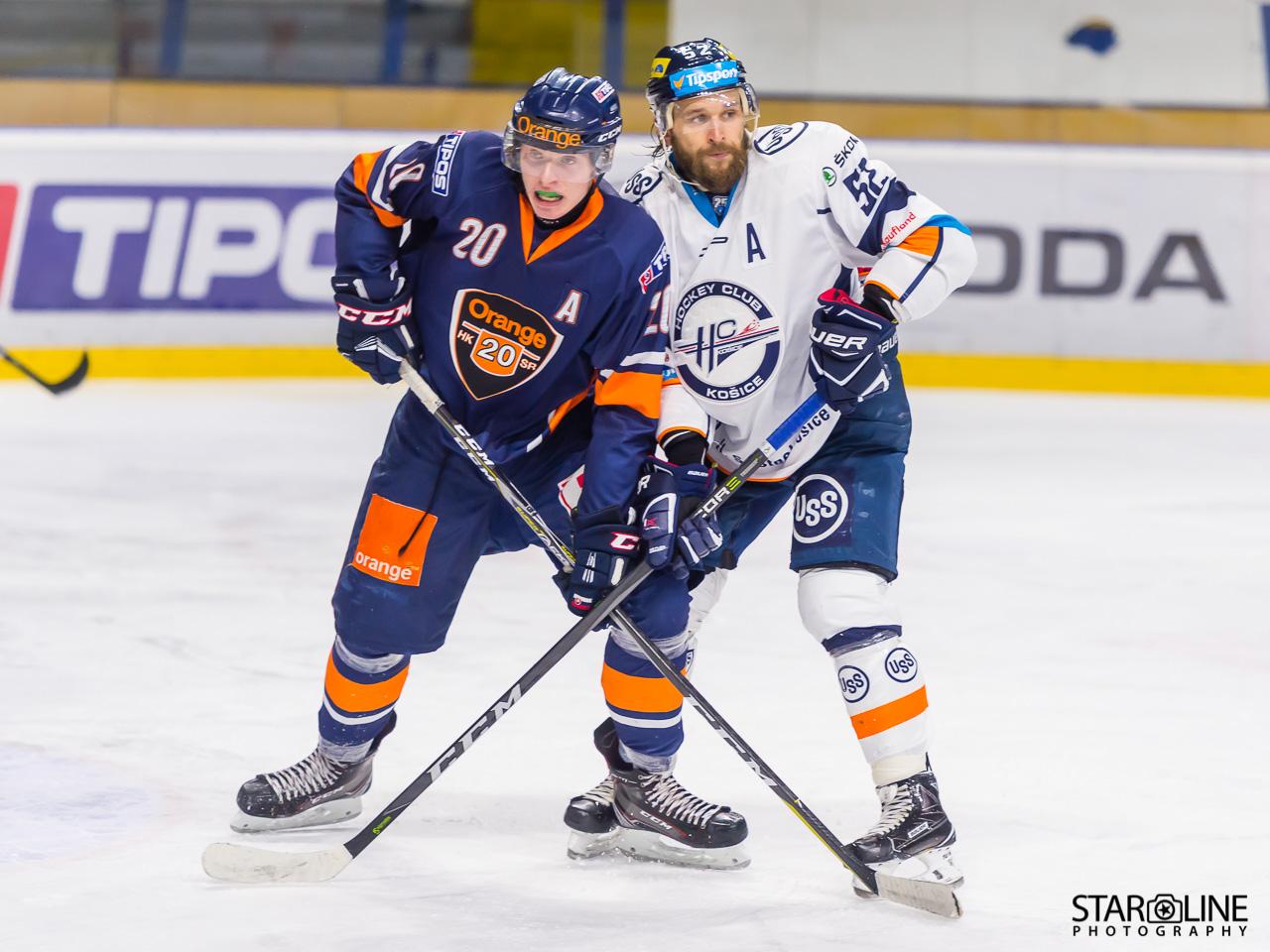 Hokejový zápas HK Orange 20 – HC Košice