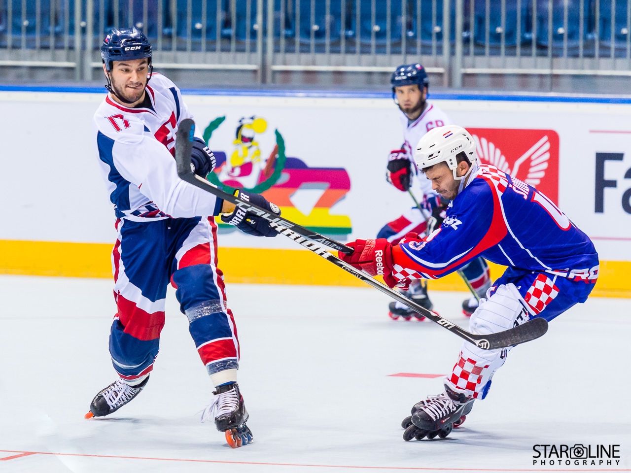 2017 IIHF Inline Hockey World Championship - SVK : CRO
