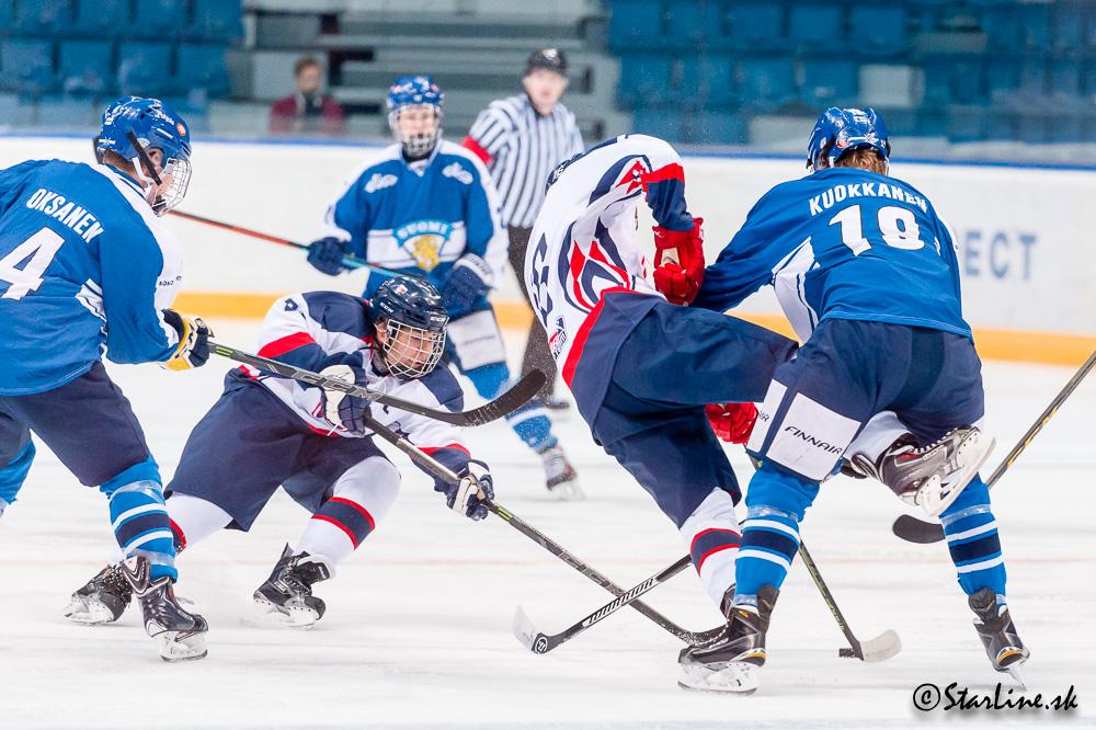 U18 Ivan Hlinka Memorial 2015/2016 Slovakia : Finland