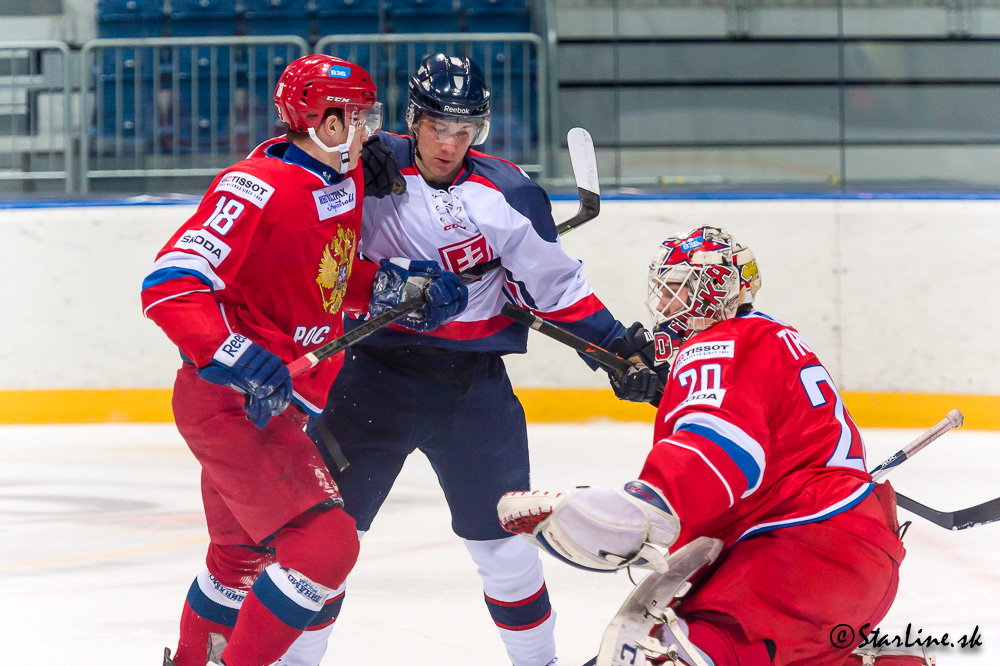U20 Four Nations Tournament 2014/2015 Slovakia : Russia