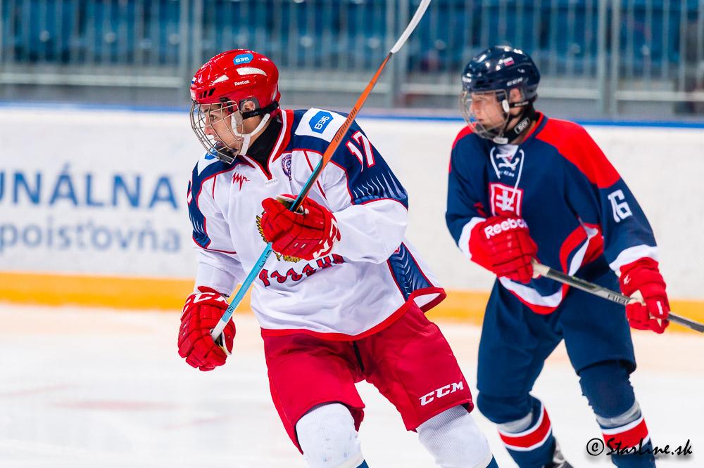 U18 Ivan Hlinka Memorial 2015/2016 Slovakia : Russia
