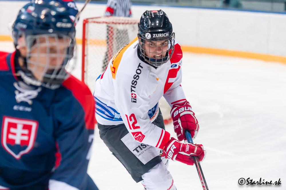 U18 Ivan Hlinka Memorial 2015/2016 Slovakia : Switzerland