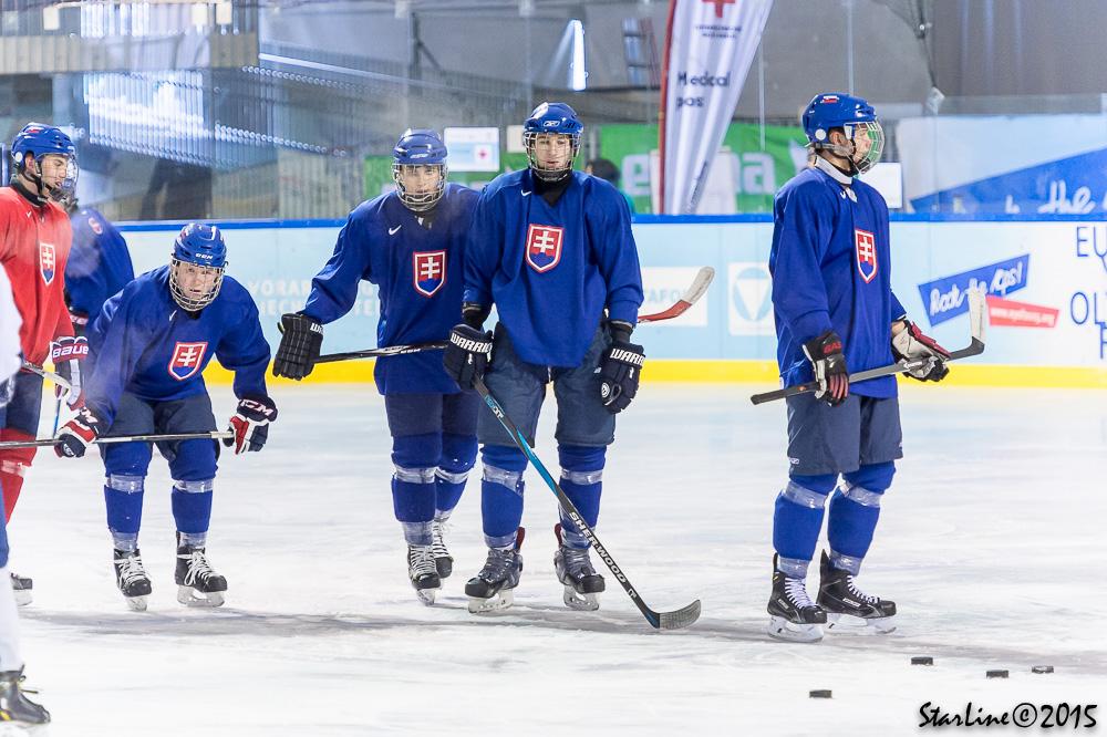 Tréning reprezentácie SR U17 na EYOF 2015