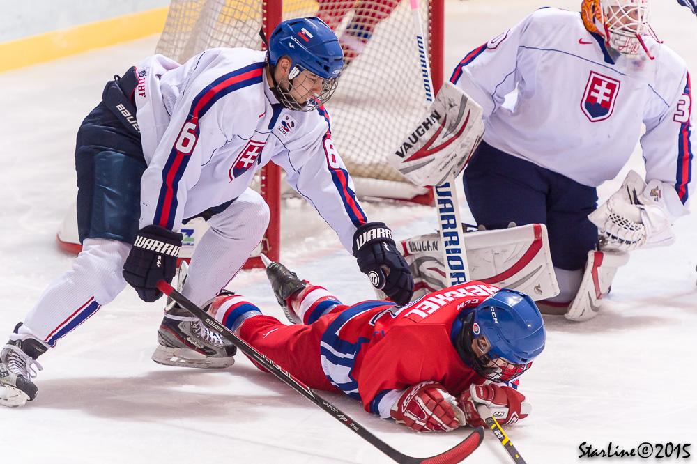 SR U17 vs Česká republika na EYOF 2015