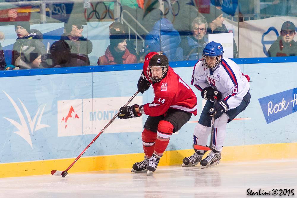 SR U17 proti Švajčiarsku na EYOF 2015