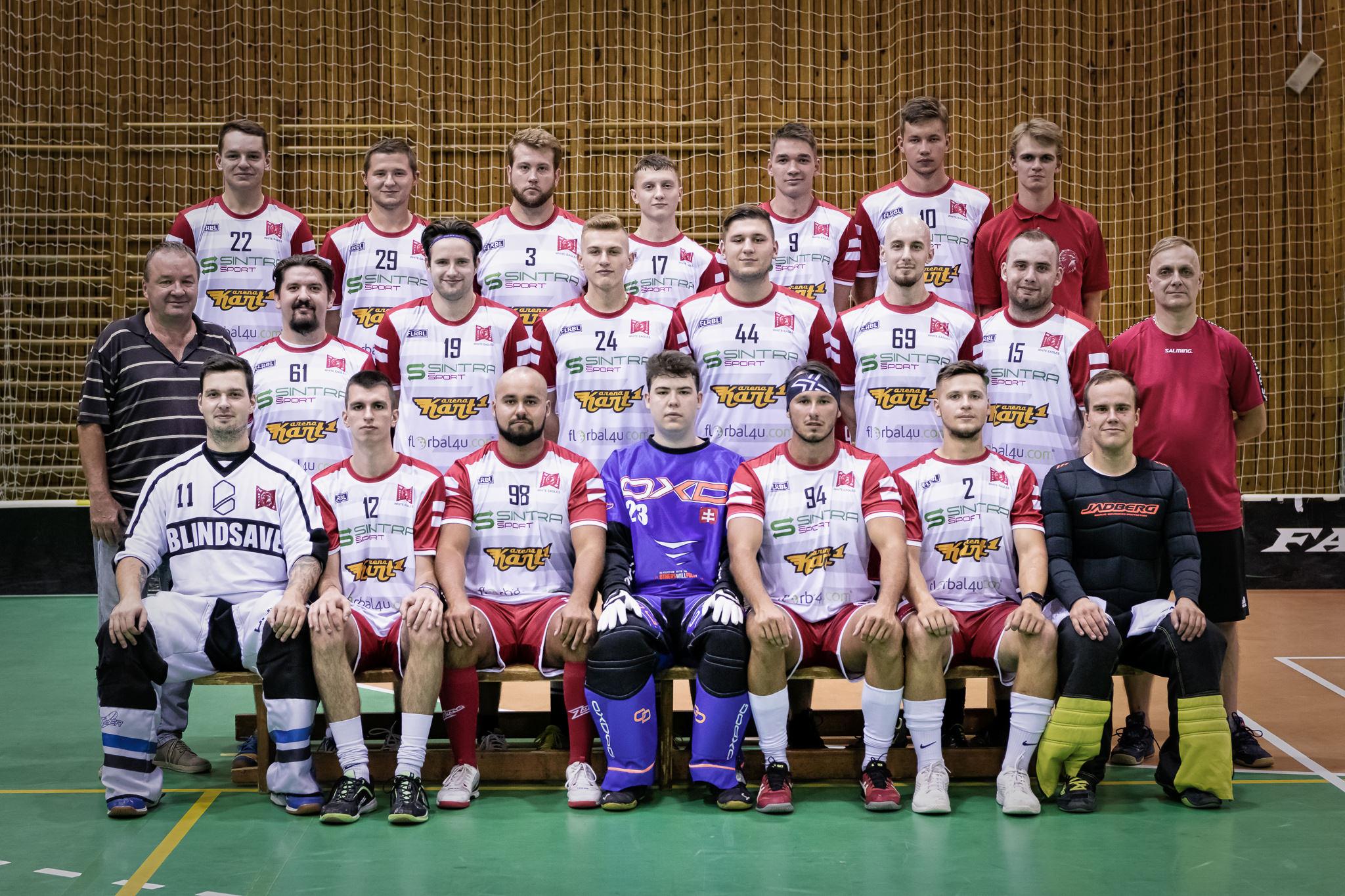 Fotenie hráčov FBC White Eagles Bratislava