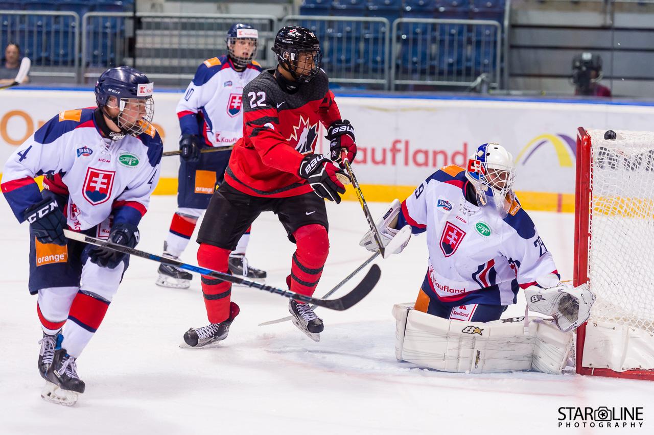 Ivan Hlinka Memorial Cup 2017 – Slovakia vs Canada