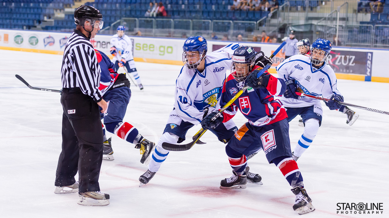 Ivan Hlinka Memorial Cup 2017 – Slovakia vs Finland