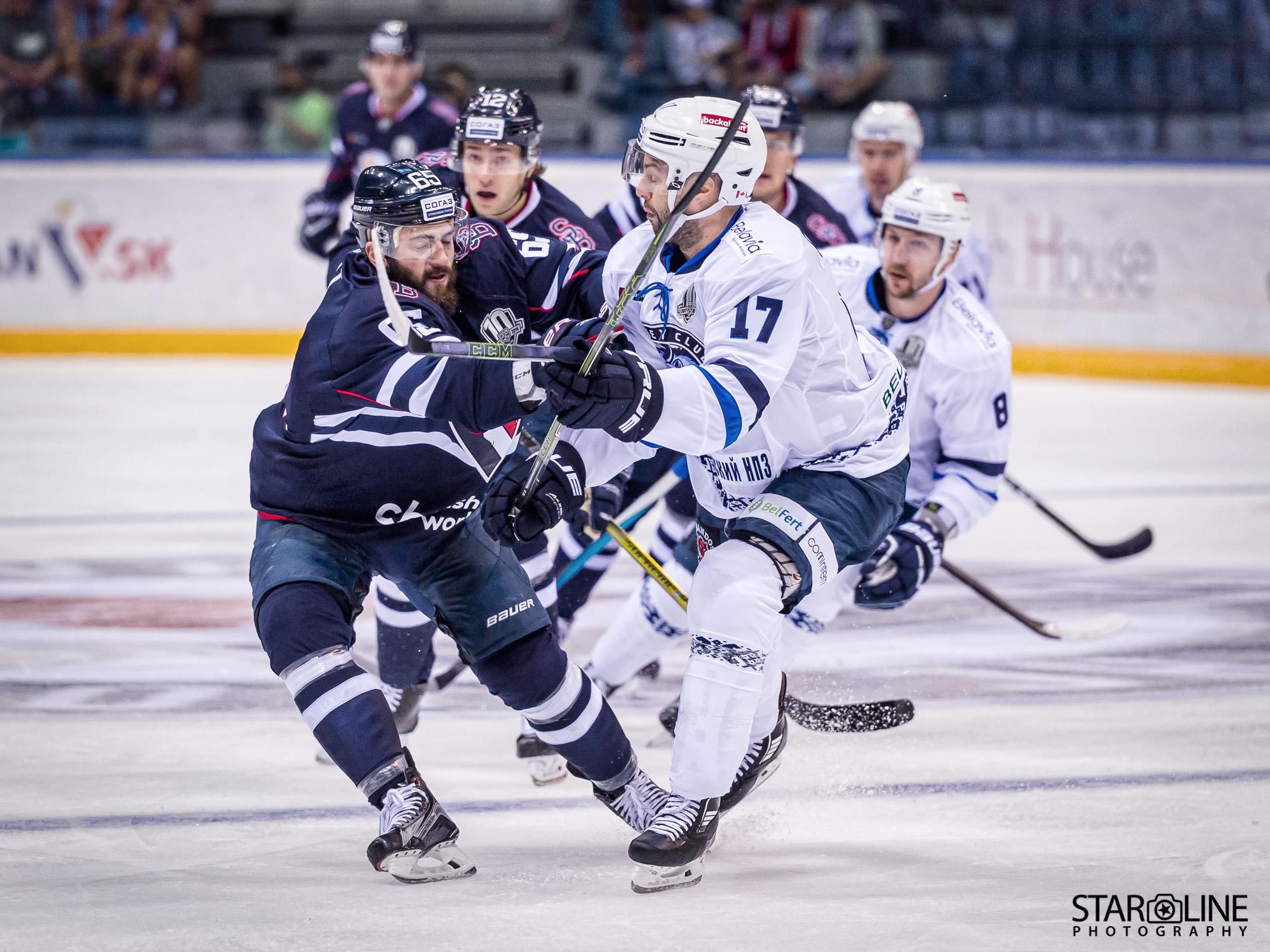 Výber z domácich zápasov HC Slovan Bratislava – 1. kolo