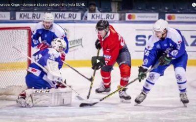 Paneuropa Kings – domáce zápasy základného kola EUHL