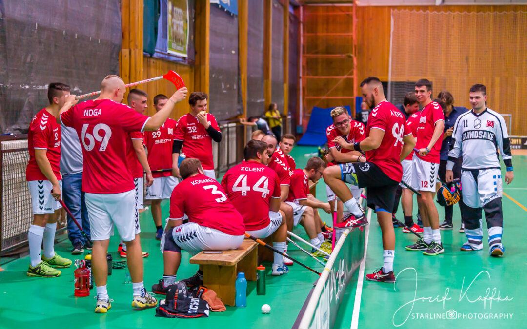 CAPITOL Floorball Team vs FBC White Eagles Bratislava – 2. liga mužov