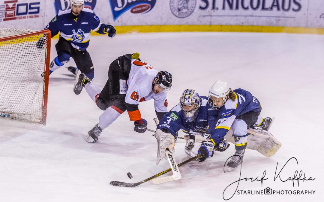 Hokejový zápas 1. ligy HC OSMOS Bratislava – HK Spišská Nová Ves