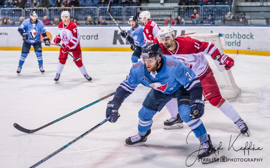 Hokejový KHL zápas HC Slovan – Vityaz Moscow Region