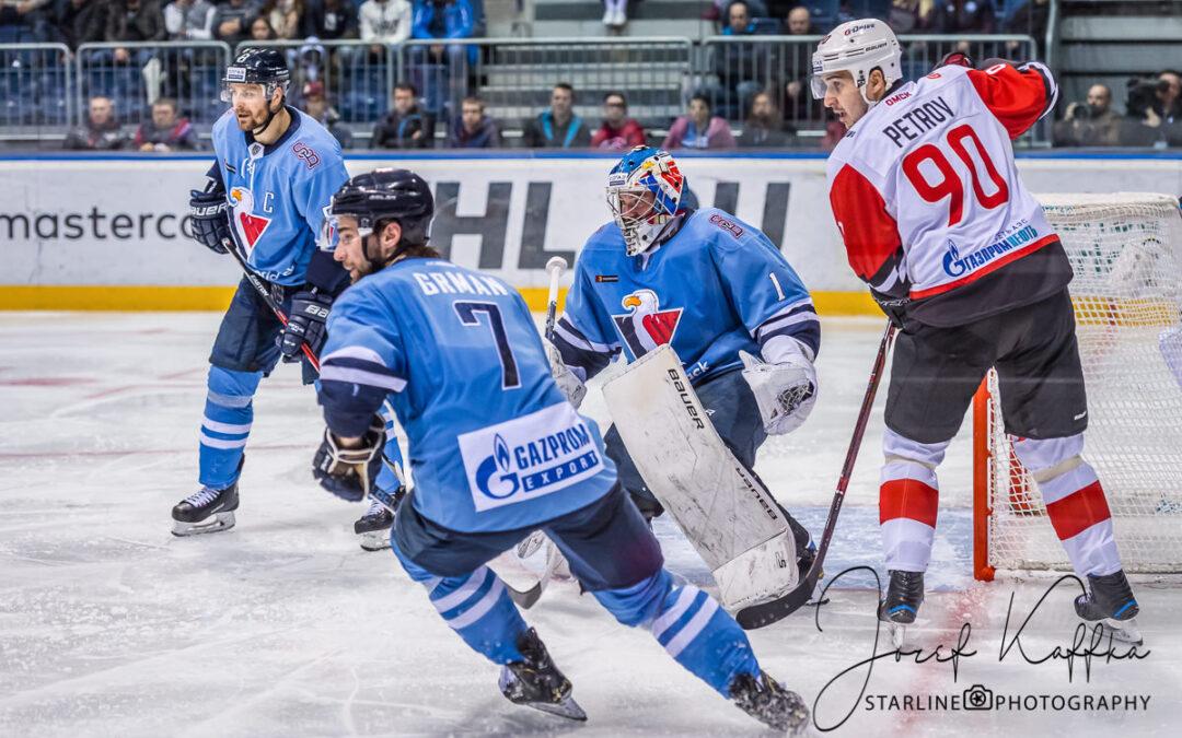 Hokejový KHL zápas HC Slovan Bratislava – Avangard Omsk