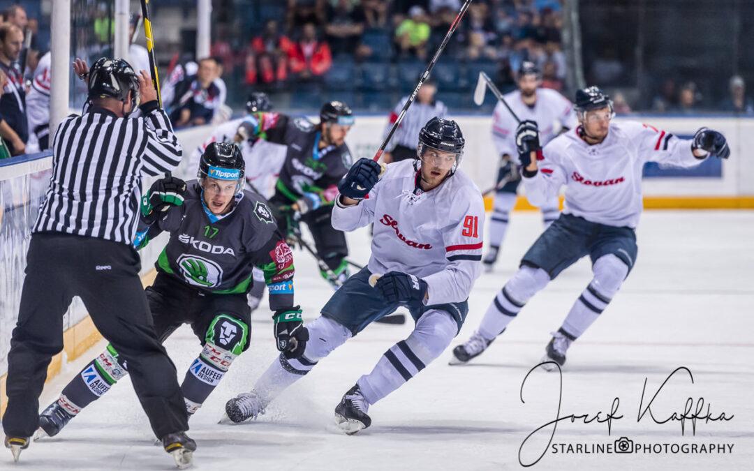 Prípravný zápas HC Slovan Bratislava s BK Mladá Boleslav