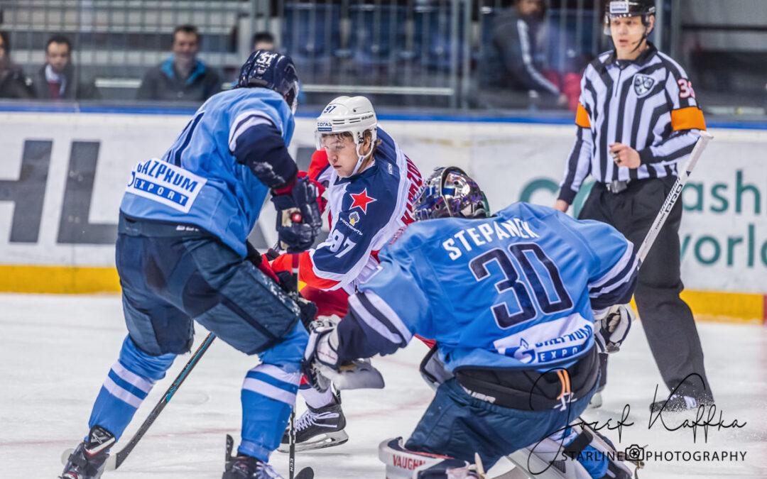 Hokejový KHL zápas HC Slovan Bratislava – CSKA Moscow