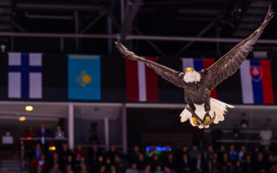Hokejový zápas HC Slovan Bratislava – CSKA Moscow