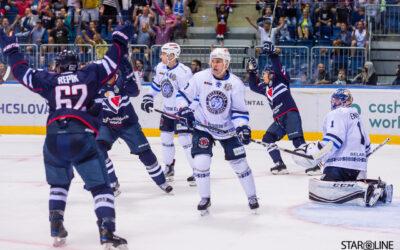 Hokejový zápas HC Slovan Bratislava – HK Dinamo Minsk