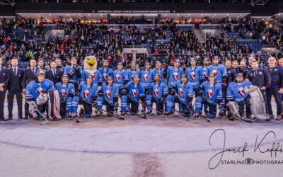 Hokejový KHL zápas HC Slovan Bratislava – Dinamo Minsk