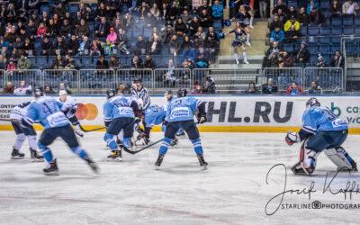 Hokejový KHL zápas HC Slovan – Dinamo Minsk