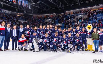 Hokejový zápas HC Slovan Bratislava – HC Dinamo Minsk