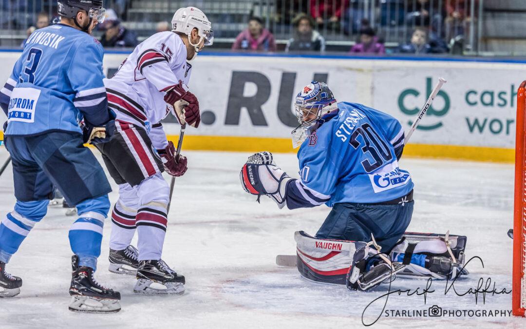 Hokejový KHL zápas HC Slovan Bratislava – Dinamo Riga