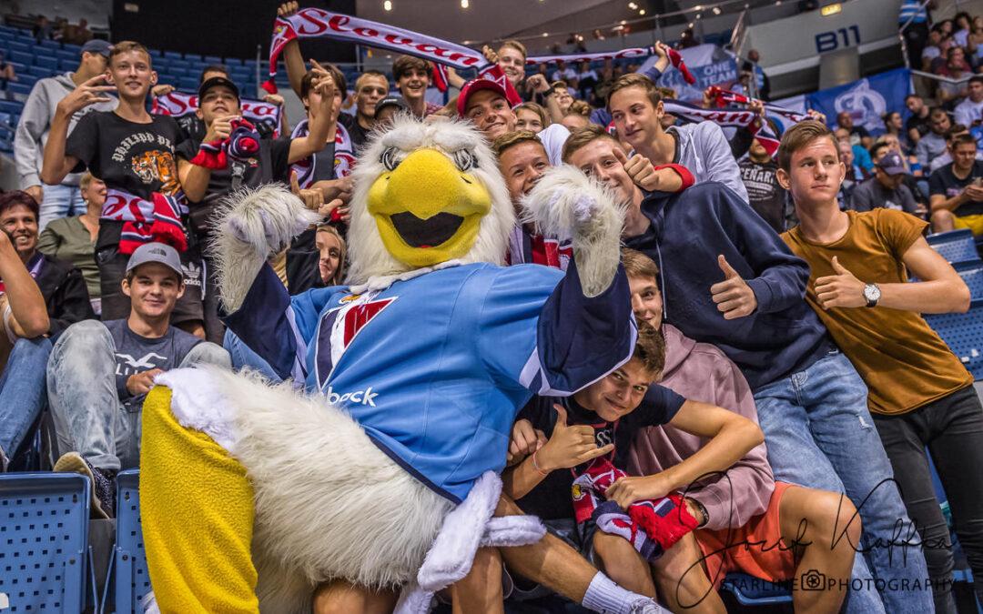 Hokejový KHL zápas HC Slovan Bratislava – HC Dynamo Moscow