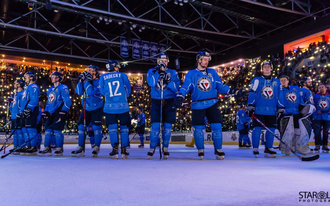 Hokejový zápas HC Slovan Bratislava – HC Avtomobilist Yekaterinburg