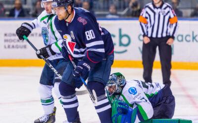 Hokejový zápas HC Slovan Bratislava – HC Jugra Khanty-Mansiysk
