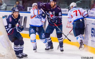 Hokejový zápas HC Slovan Bratislava – HC Lada Togliatti