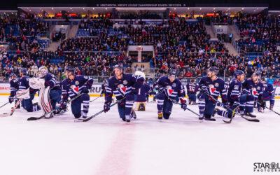 Hokejový zápas HC Slovan Bratislava – HC Metallurg Magnitogorsk