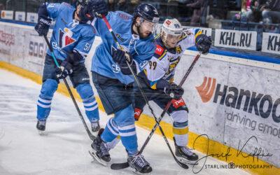 Hokejový KHL zápas HC Slovan Bratislava – HC Sochi