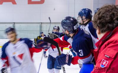 Hokejový zápas juniorov HC Slovan Bratislava – HK ŠKP Poprad