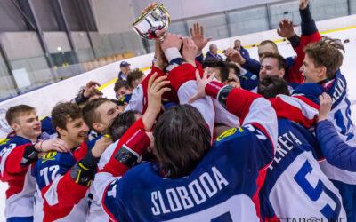 Hokejový zápas juniorov HC Slovan Bratislava – HK ŠKP Poprad o 3. miesto