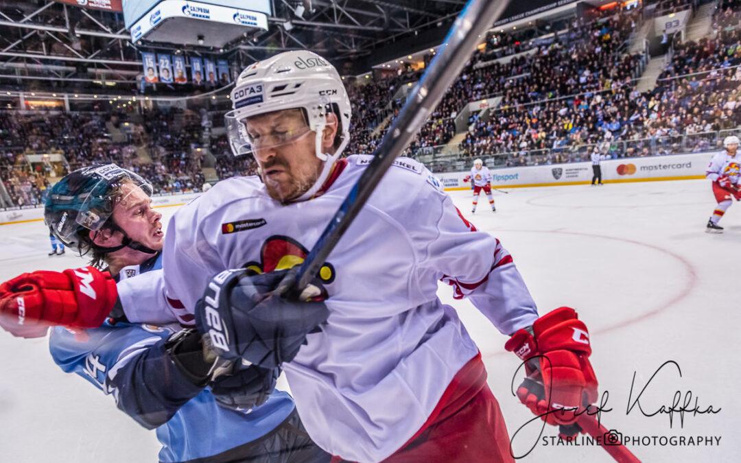Hokejový KHL zápas HC Slovan – Jokerit Helsinki