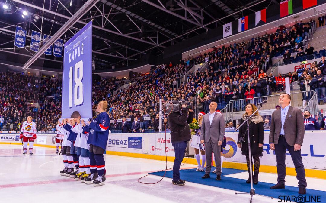 Hokejový zápas HC Slovan Bratislava – Jokerit Helsinki