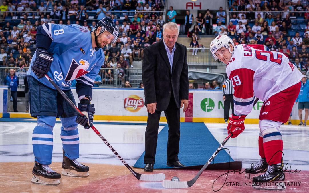 Hokejový KHL zápas HC Slovan Bratislava – Lokomotiv Yaroslavl