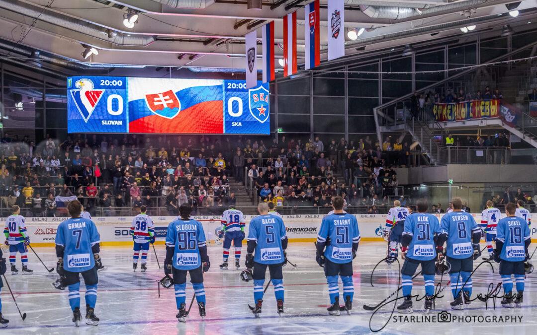 World Games – KHL zápas HC Slovan Bratislava a SKA Saint Petersburg