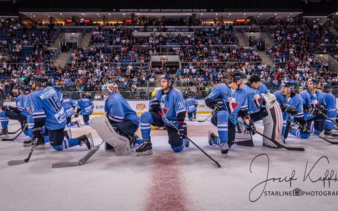 Hokejový KHL zápas HC Slovan Bratislava – Severstal Cherepovets