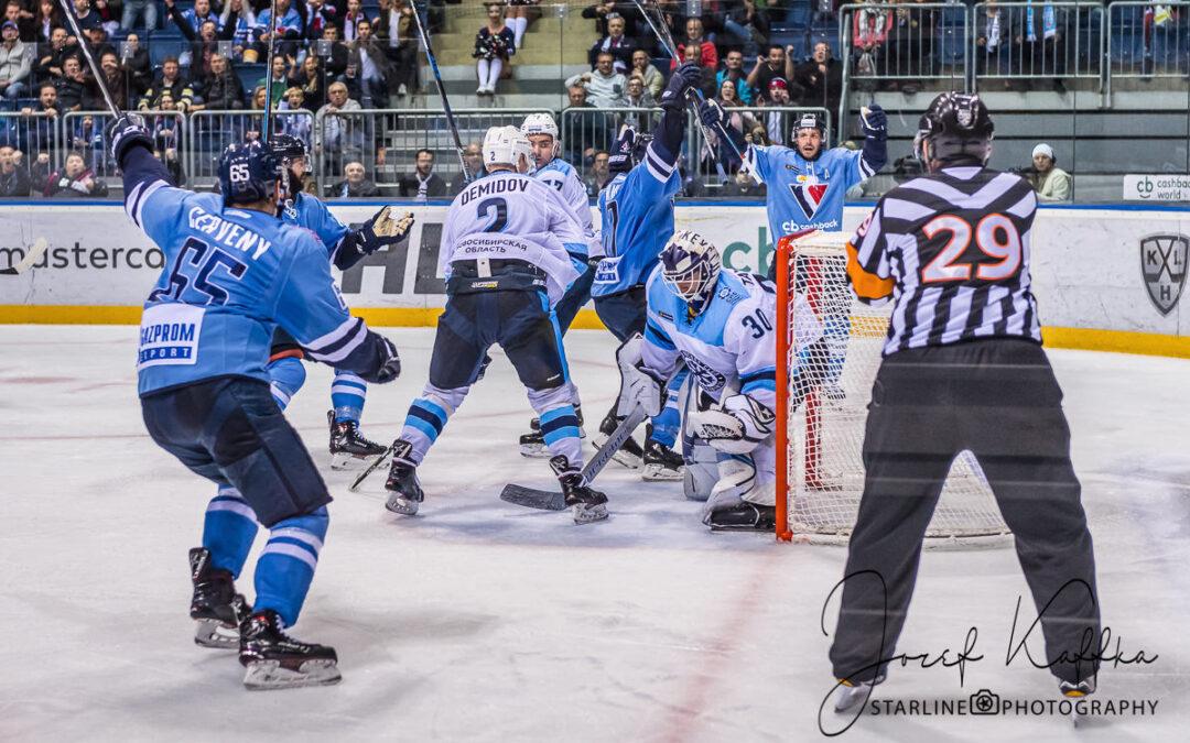 Hokejový KHL zápas HC Slovan Bratislava – Sibir Novosibirsk