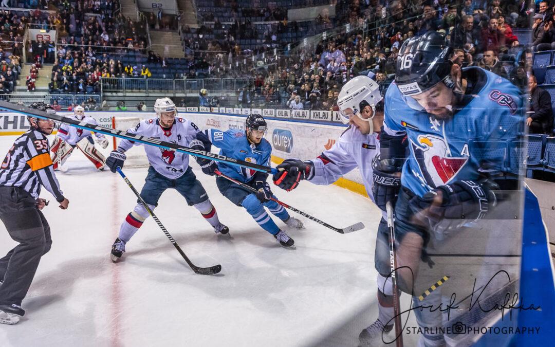 Hokejový KHL zápas HC Slovan Bratislava – Torpedo Nizhny Novgorod