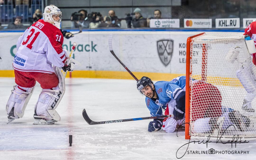 Hokejový KHL zápas HC Slovan Bratislava – Vityaz Moscow Region