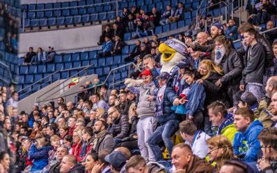 HC Slovan Bratislava – maskoti Harvy a bradáči