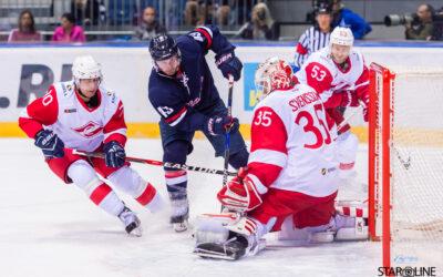 Prípravný zápas HC Slovan Bratislava – Spartak Moskva
