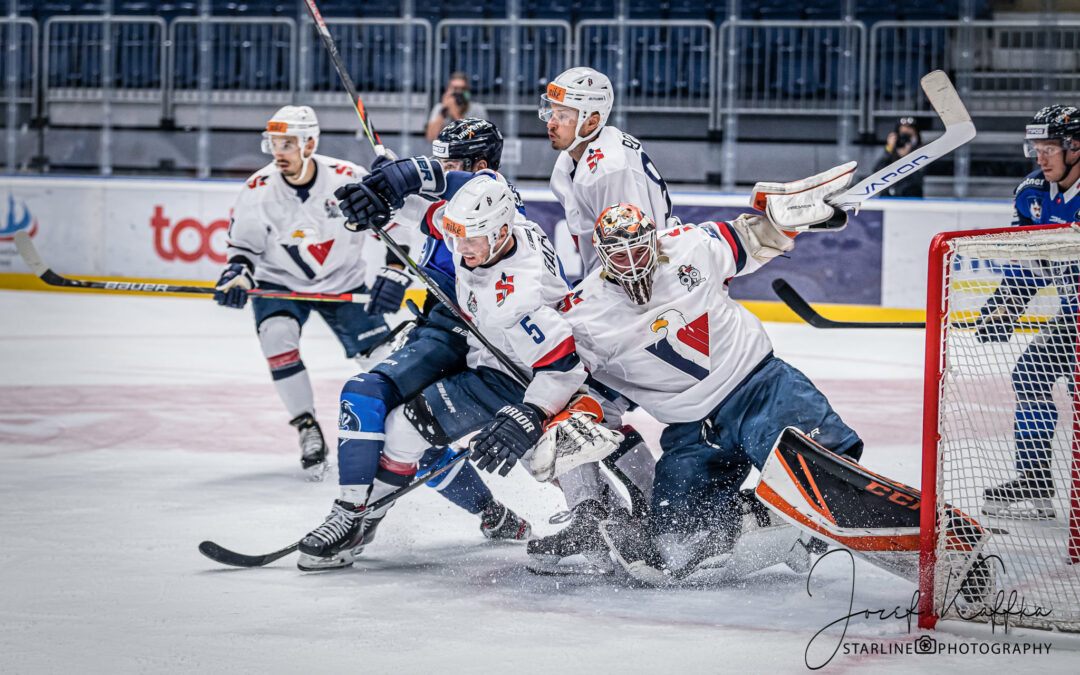Hokejový zápas HC Slovan Bratislava – HK Poprad v rámci Tipos Extraliga